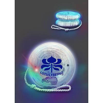 multicolor led crystal yo-yo