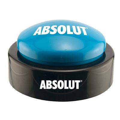 big sound button - blue top