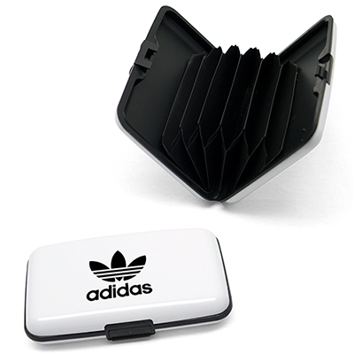 rfid aluminum credit card wallet - white