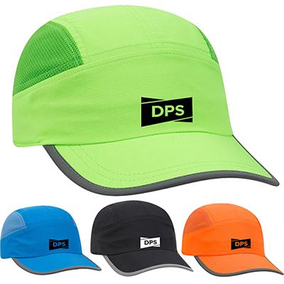 reflective trim running cap