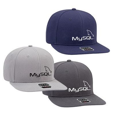 wool blend slight curve visor cap
