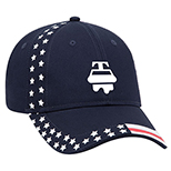 30101 - United States Flag Pattern Cap