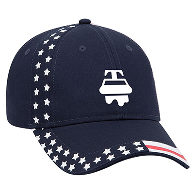 united states flag pattern cap