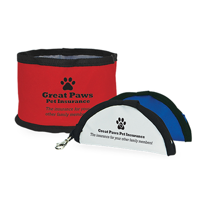 portable pet food bowl