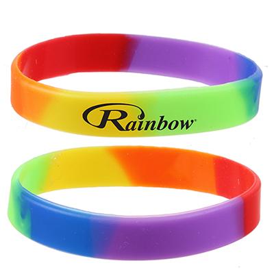 rainbow wrist band
