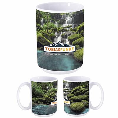 15 oz. dye sublimation mug