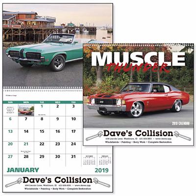 muscle thunder spiral calendar