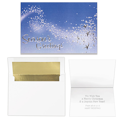 magical wisp of stars - 5 x 7 classic card