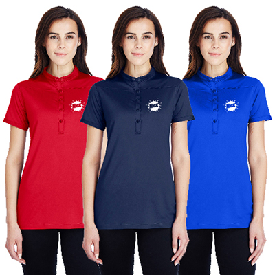 Custom promotional Under Armour ladies performance polo  Among the best  apparel for women! 441a578023307