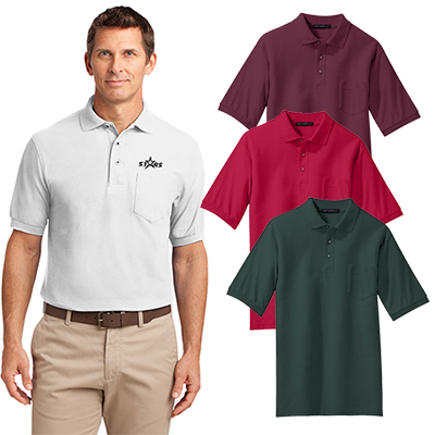 05bf3af3 Get the custom printed Port Authority Silk Touch Polo for the next  tradeshow!
