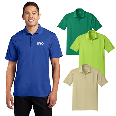 sport-tek® tall micropique sport-wick® polo