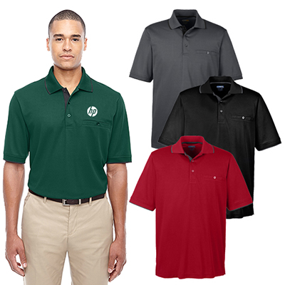 Core 365 Men's Motive Performance Pique Polo