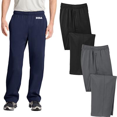 sport-tek® sport-wick® fleece pants