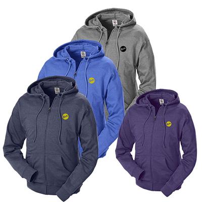 7.5 oz. french terry zip fleece hoodie