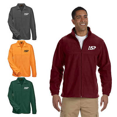 Harriton® 8 oz. Full-Zip Fleece