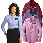 30488 - Port Authority® Ladies Crosshatch Easy Care Shirt