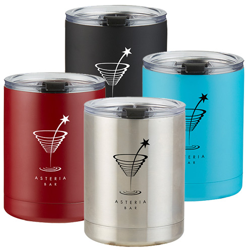 10 oz. Stainless Steel Low Ball Tumbler