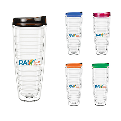 26 oz. tritan™ usa clear wrap insert tumbler