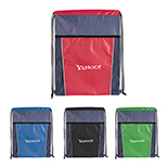 30637 - Clean Edge Drawstring Backpack