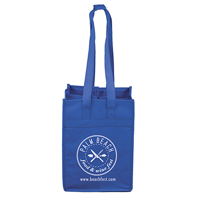 Brunello 4 Bottle Wine Tote Bag
