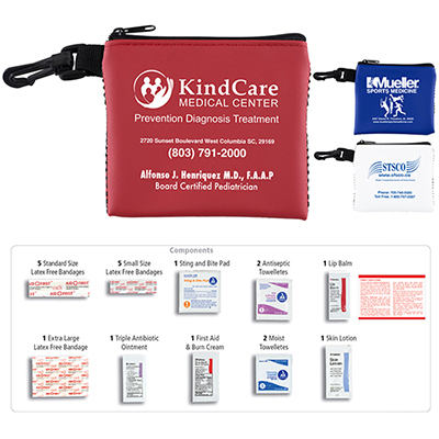 team mom 21 piece all purpose first aid kit