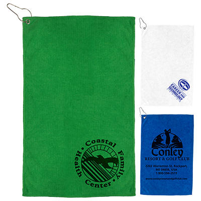 300 gsm heavy duty microfiber golf towel
