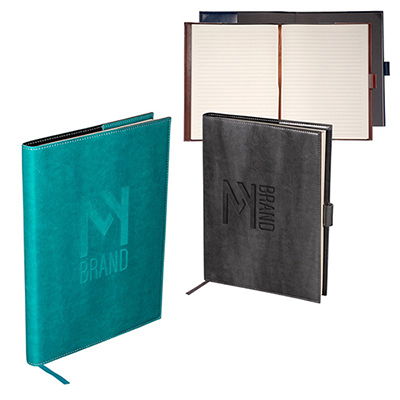 venezia™ large refillable journal - 7 x 9