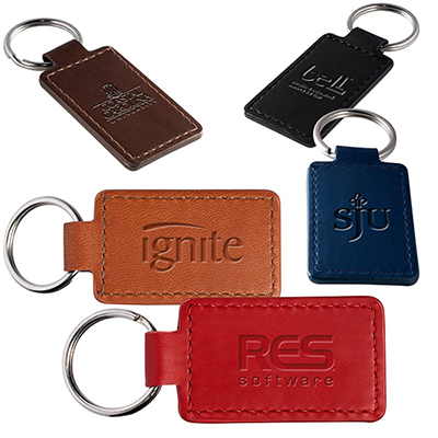 tuscany™ rectangle key ring
