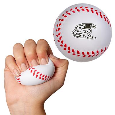 baseball super squish stress reliever