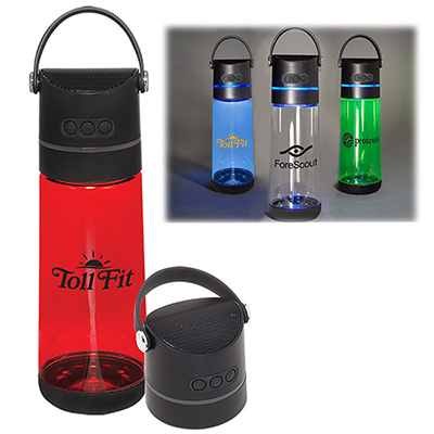 21 oz. wireless speaker bottle