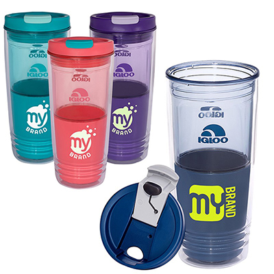 22 oz. havasu tritan™ double-wall tumbler by igloo®