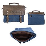 30996 - Dax Canvas Messenger Bag