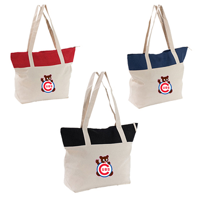 everyday canvas tote - full color