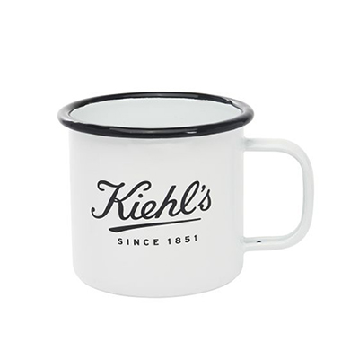 16 oz. stainless steel enamel coffee mug