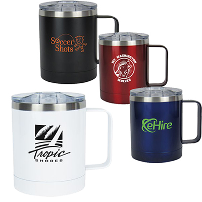 11 oz. double wall stainless steel vacuum coffee cup