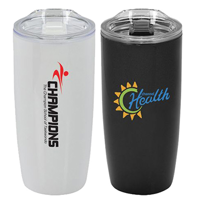 20 oz. double wall plastic tumbler