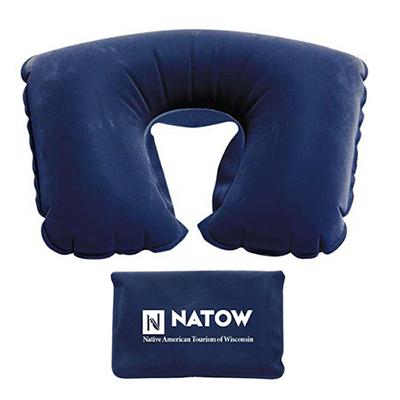 travel pillow w/pouch