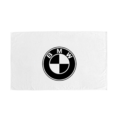 riviera beach towel - white