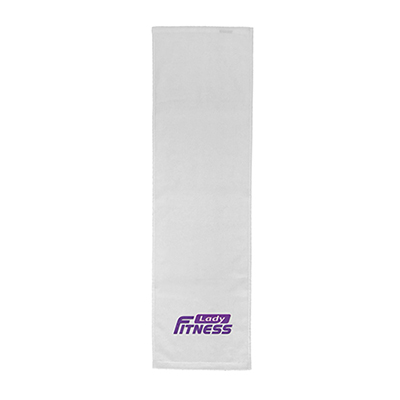 competitor dobby hem fitness towel