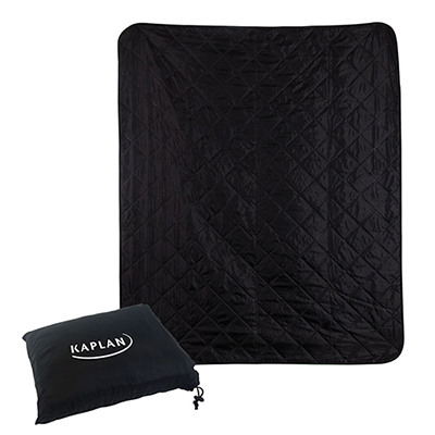 polyester roll-up travel blanket