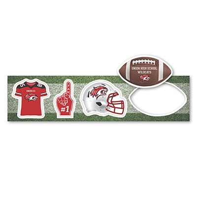 football themed magnets
