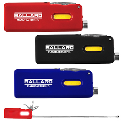 4 in 1 worklight with telescopic magnet