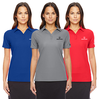 under armour ladies corp performance polo