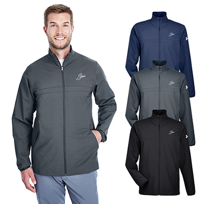 under armour mens corporate windstrike jacket