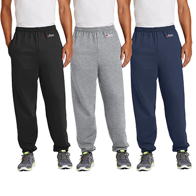 port & company®- essential fleece sweatpant with pockets