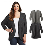 31546 - Port Authority Ladies Marled Cocoon Sweater