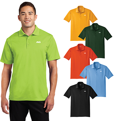 Custom Printed Sport Tek Micropique Sport Wick Polo Shirt Imprinted Shirts Promo Direct Smooth micropique polos that wick moisture and resist snags. promo direct