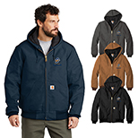 31570 - Carhartt Quilted-Flannel-Line Duck Active Jacket