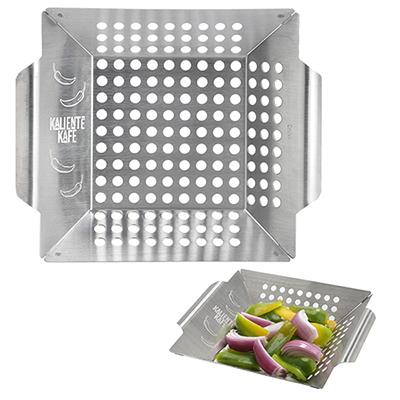 grill basket for veggies and sides