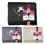 31604 - Acrylic Throw Blanket with Full Color Card